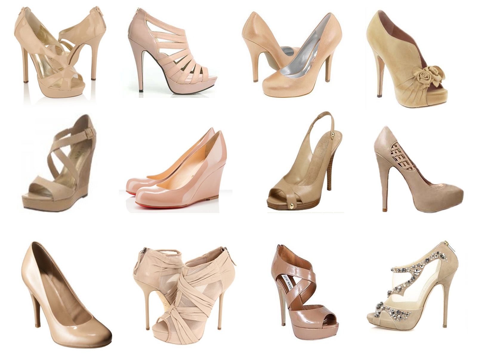 High Heels Nude Color